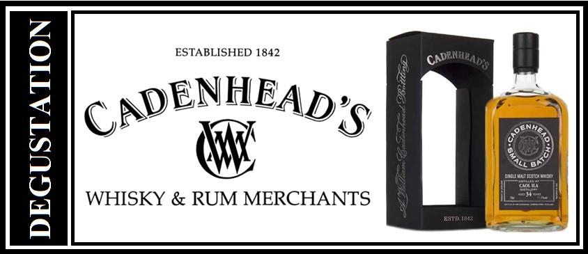Dégustation Whisky Cadenhead's